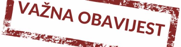 VAŽNA OBAVIJEST: Organizacija rada i radno vrijeme CZSS Pazin i Podružnice Obiteljski centar od 23.3.2020.
